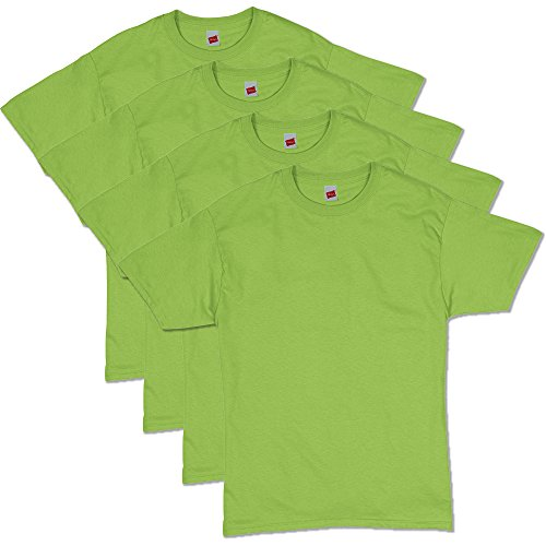 5281 Hanes 4 Pack Tees (3X-Large, Jade)