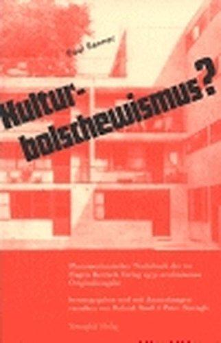Kulturbolschewismus? Buch-Cover