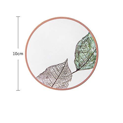 Sur Jute (ZCHPDD Mug Cork Coaster Cork Isolation Sur Mesure Anti-Skid Constellation Cork Tasse À Café En Céramique Tasse De Liège Pattern 03 10 * 10 * 0.3Cm*8Pcs)