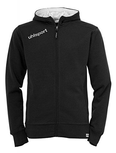 Uhlsport ESSENTIAL giacca con cappuccio schwarz
