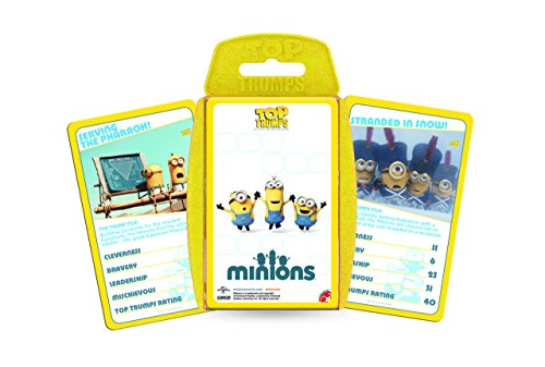Image of Minions Top Trumps card game
