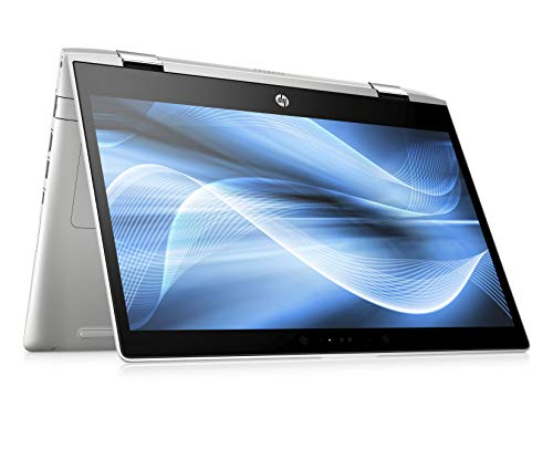 HP Probook x360 440 G1 (14 Zoll / FHD IPS) Notebook (Intel Core i7-8550U, 8GB DDR4 RAM, 256GB SSD, Intel UHD Grafik 620, Fingerabdruckleser, Windows 10 Professional) Silber (Geforce 440 Nvidia)