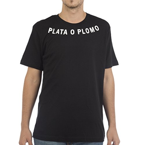 plata-o-plomo-camiseta-hombre-x-large