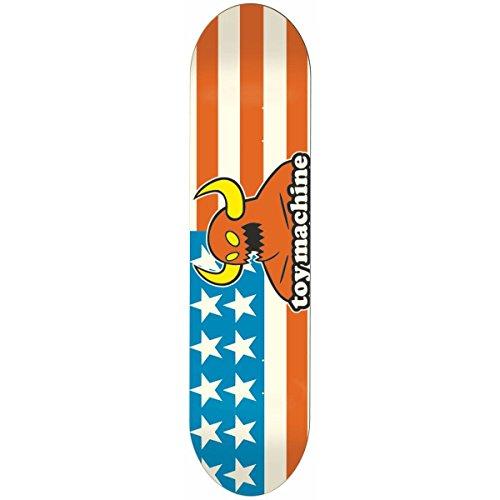 Herren Skateboard Deck (Toy Machine Skateboard Deck American Monster 7.875'' Skateboard Deck)