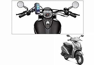 Speedwav Waterproof Bike Mobile Phone Holder Case upto 5.5 Inch Screen-Honda Activa 3G