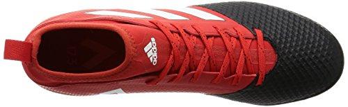 adidas Ace 17.3 Primemesh Tf, Bottes Homme Rouge (Redfootwear Whitecore Black)