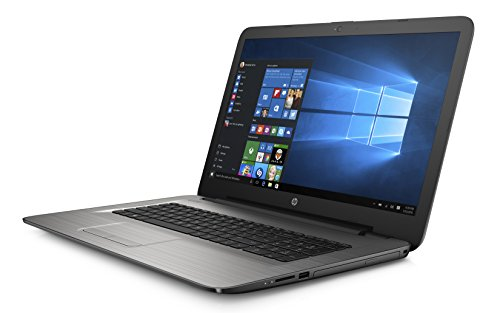 HP 17-x059nf PC Portable 17' Argent (Intel Pentium, 8 Go de RAM, 1 To, Intel HD Graphics 405, Windows 10)