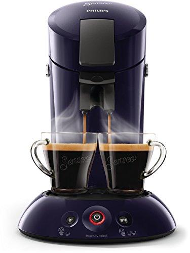 Senseo Original HD6554/40 Independiente Semi-automática Máquina de café en cápsulas 0.7L Azul - Cafetera (Independiente, Máquina de café en cápsulas, 0,7 L, Dosis de café, 1450 W, Azul)