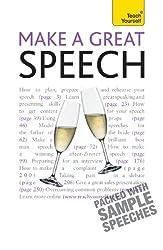 Make a Great Speech: Teach Yourself (English Edition)