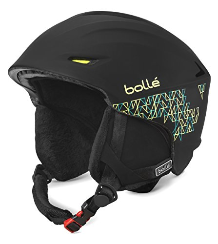 Bollé Helmet Sharp Soft Mosaic - Casco de esquí, color negro, talla 54-58 cm