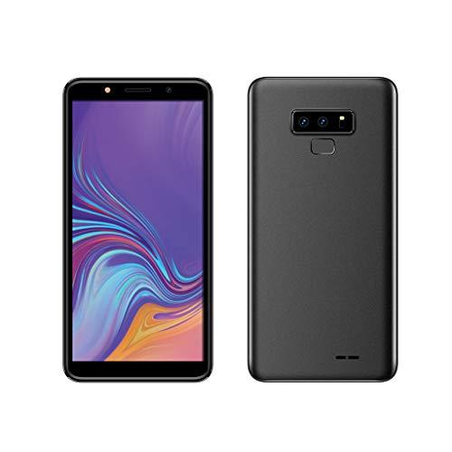 Smartphone, Jamicy ® 6,1 Zoll Sreen-Display, Android 6.0, Quad Core Dual SIM 3G T-Mobile Smartphone 2,0 MP + 5,0 MP Dual-SIM-Mobiltelefon (Schwarz) (T-mobile 5-zoll-handy)