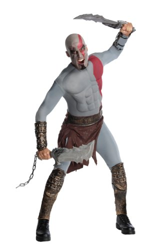 Rubies Costume Co R880300-STD Mens Muscle Chest God of War Kratos Kost-m STANDARD (Kratos Kostüm)