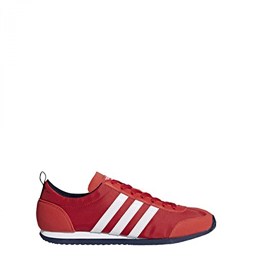 adidas Vs Jog, Sneakers Basses Homme Rouge