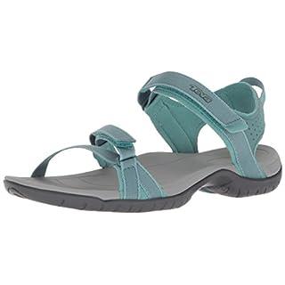 Teva Women's Verra W's Ankle Strap Sandals, Turquoise (North Atlantic 563), 7 UK
