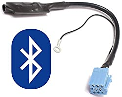 Bluetooth Audio Interface für 8pin Mini-ISO Audi Chorus 2 Concert 2 Symphony 1/2 Navigation Plus 1/2 RNS-D - - VW MCD MFD 1 Gamma 5 - - Seat Alana Aura Elba Liceo Lena Scala - - Skoda MFD1 Symphony