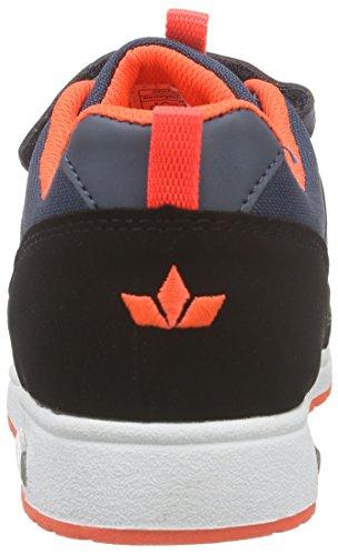 Lico Cool Vs, Baskets Basses Garçon Bleu - Blau (petrol/schwarz/orange)