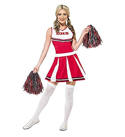 Déguisement pompom girl femme - Taille M - Costume Carnaval Halloween - 563