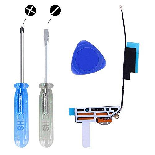 MMOBIEL® Wifi GPS Wireless Wlan Antenne Signal Flexkabel Modul für iPad Mini 1/2/3-7.9 inch inkl. Plektrum und 2 x Schraubenzieher für einfache Installation