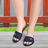 Pkkart Women Casual Denim Flat