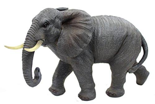 Deko-Figur Elefant 16 x 26cm (Afrika Afrikanische Kunst)