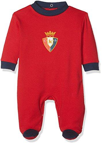 Club Atlético Osasuna Pelosa Pelele, Bebé-Niños, Rojo (Rojo/Azul Marino), 3 meses