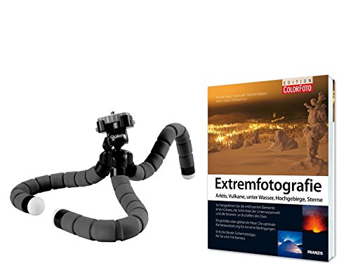fz300 buch Reise Stativ Set mit Tischstativ Klemmstativ und Fotofachbuch Extremfotografie
