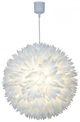 "Naeve Leuchten Pendelleuchte ""Young Living"" / d: 45 cm / h: 110 cm / Material: Kunststoff 7024923 von Naeve Leuchten GmbH - Lampenhans.de"