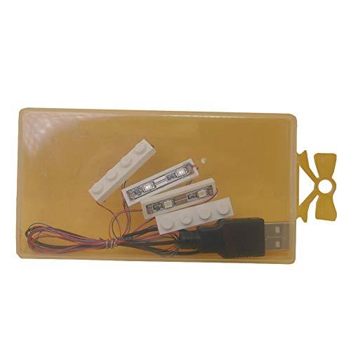 Hifuture LED Beleuchtung,für Lego Spielzeugbausteine (allgemein),USB-Aufladung (Usb Lego)