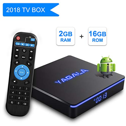 YA-II Android 7.1.2 TV Box Amlogic S905W Cuatro núcleos