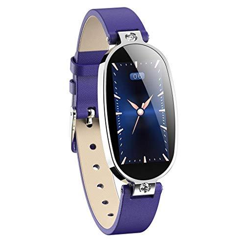 Smartwatch Damen iOS und Android Uhr, Elospy Damenuhr EKG-Erkennung Kalorien Aktivitätstracker Damen elegant Fitnessarmband mit Herzfrequenz Fitness Uhr mit Schrittzähler Schlafüberwachung -