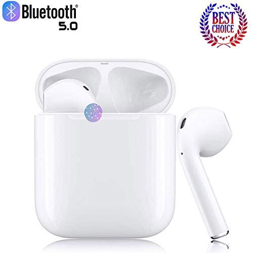 Bluetooth-Kopfhörer,kabellose Touch-Kopfhörer HiFi-Kopfhörer In-Ear-Kopfhörer Rauschunterdrückungskopfhörer,Popup-Fenster mit Echtzeit-Display,kompatibel mit Apple Airpods Android/iPhone.