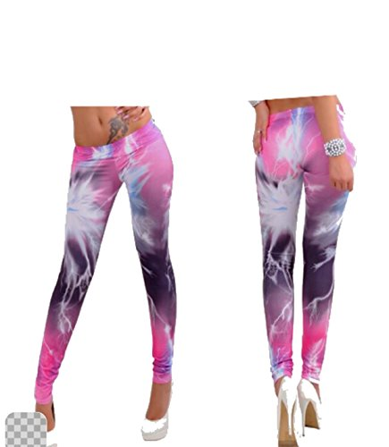 Lux Lyra 11391 Polyester Printable Leggings (Lux Lyra 11391_Multicolor)  available at amazon for Rs.349