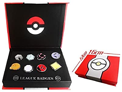 Pokemon Gym Badges set of 8PCS