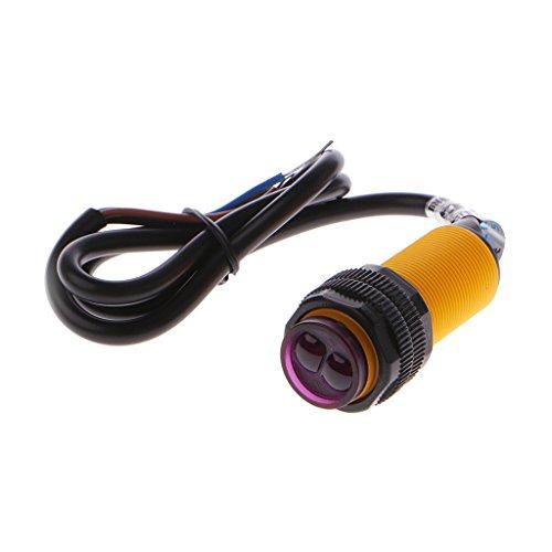 BIlinli Lichtschranke E18-D80NK Infrarot-Näherungsschalter zur Vermeidung von Hindernissen -