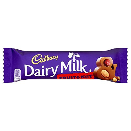 Cadbury Fruit & Nut 49g x 48 x 1 Kinderpartysüßigkeiten Schokolade