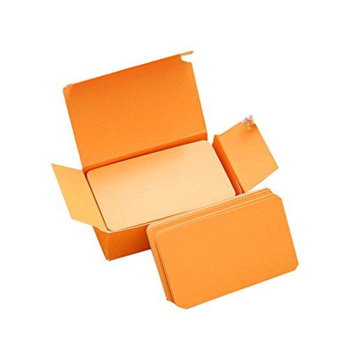 Descripción del producto: Cantidad: 100 unidades. Tamaño de la tarjeta: 8 x 5 cm. Disponible en dos caras. Material: papel kraft. Se trata de una tarjeta de papel kraft, papel kraft en blanco, tarjeta de mensaje de palabra, tarjeta de regalo en blanc...