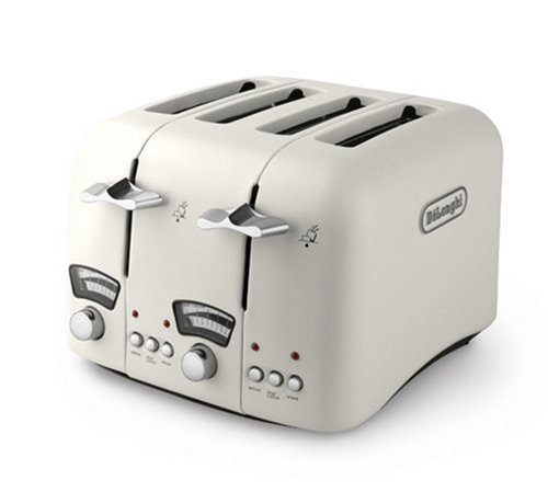 delonghi-classic-ct04e-4-slice-toaster-cream
