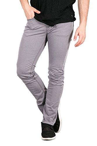 FIFTY FOUR - Jeans skinny fit da uomo novel w38 grigio chiaro