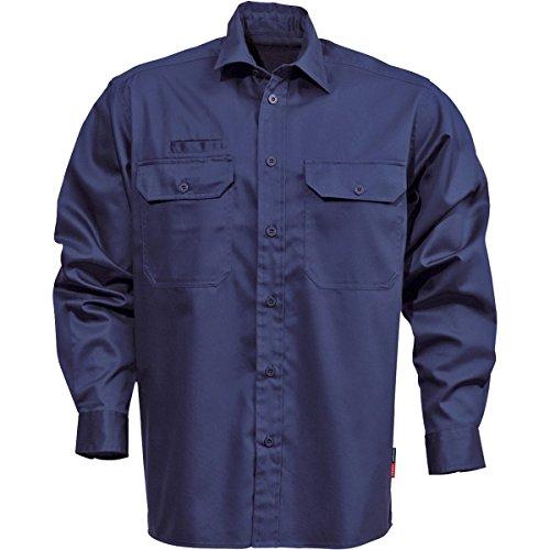 Preisvergleich Produktbild Fristad Kansas - Shirt L/sleeve 7386 BKS X/Large Dark Navy 100732-540 XL