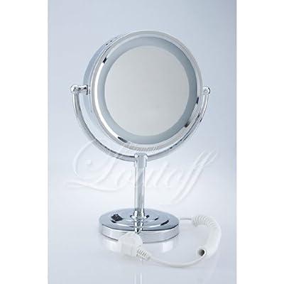 DXP Schminkspiegel LED Kosmetikspiegel 7-fach Vergrößerung ROHS YTL9700
