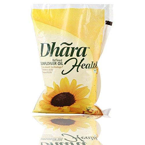Dhara Sunflower Oil, 1 L