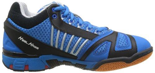 Kempa Typhoon Midcut, Chaussures de Handball homme Bleu (01 Bleu Kempa Noir Rouge)