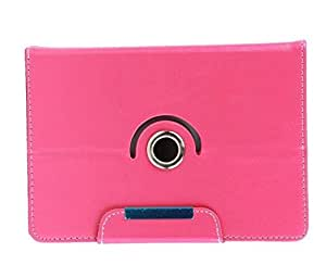 Stylabs Tablet Book Flip Case Cover For iBall Slide 3g 7271 (Universal) - Pink