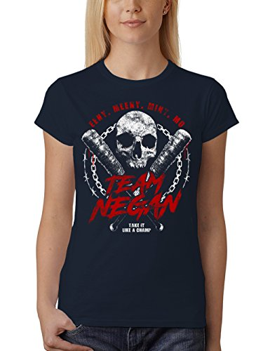 rt Unisex Team Negan Navy Gr. M (Walking Dead Zombie Girl)