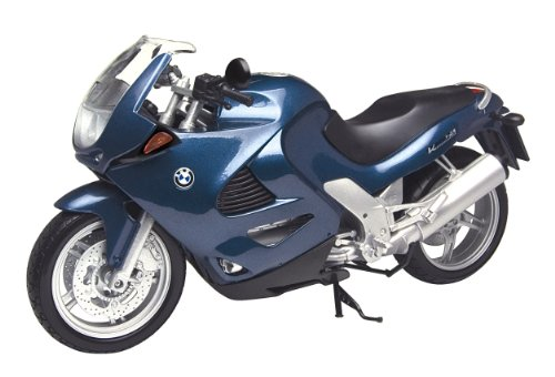 Motormax 1997 BMW K1200RS 76251, Blau, 1:6 Die Cast (1 6 Motorrad)