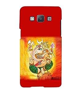 PrintVisa Lord Shri Ganesh Ganesha 3D Hard Polycarbonate Designer Back Case Cover for Samsung Galaxy A3 :: Samsung Galaxy A3 Duos :: Samsung Galaxy A3 A300F A300FU A300F/DS A300G/DS A300H/DS A300M/DS