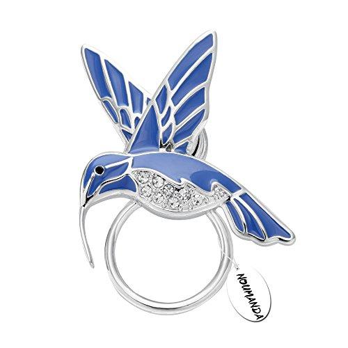 noumanda-natura-gioielli-smalto-colibri-magnetico-porta-occhiali-smeraldo-bird-magnetico-spilla