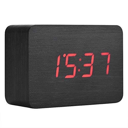 Eboxer Despertador Digital de Madera