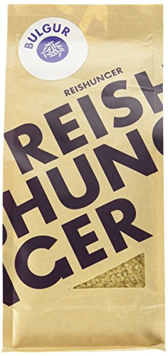 Reishunger Bulgur, Bio, Türkei, 6er Pack (6 x 400 g)