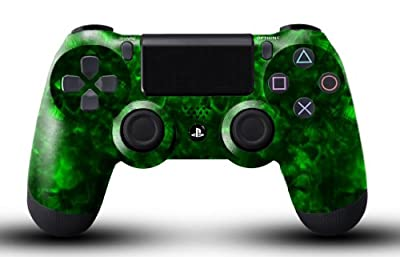 Custom PS4 Controller - Green Reaper